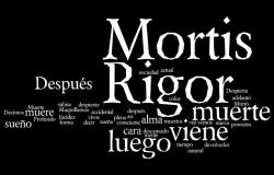 Rigor Mortis Tag Cloud